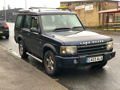 2003 03, reg land rover discovery td5