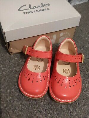 Girls Clarks Yarn Jump Size 4 4G 20 Toddler Shoes