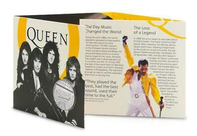 Queen £5 Royal Mint Coin Official BU Five Pound Bohemian Rhapsody Collectable