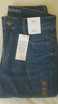 BNWT Marks and Spencer (M&S) skinny jeans size 10 regular