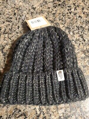 The North Face Women's Beanie Rhodinia TNF Black Gold One Size New