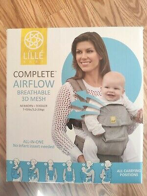 LILLEbaby 6-Position COMPLETE Airflow Baby & Child Carrier