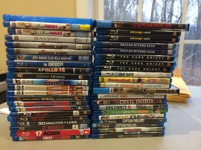 Large PICK AND CHOOSE BLU RAY lot-- , Buy More and Save!