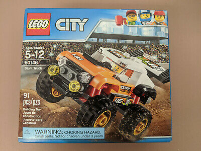 New Lego City Stunt Truck (60146) Slightly Damaged Box