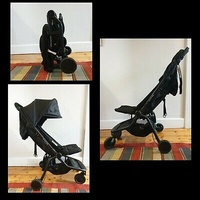 Mountain Buggy Nano. Compact travel stroller pram.
