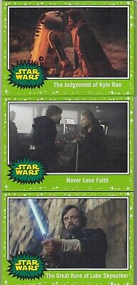 2019 Topps Star Wars Journey To Rise Of Skywalker Green Border 23Ct Lot No Dups