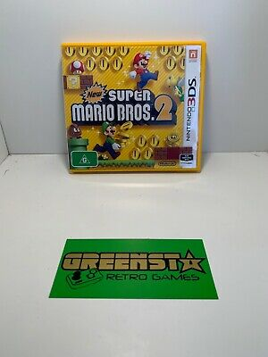 New Super Mario Bros 2 - Nintendo 3DS 🇦🇺 Seller Free And Fast Postage