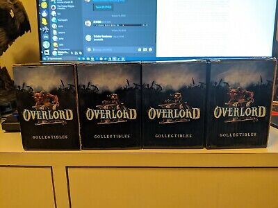 Lot Of 4 Overlord Minions