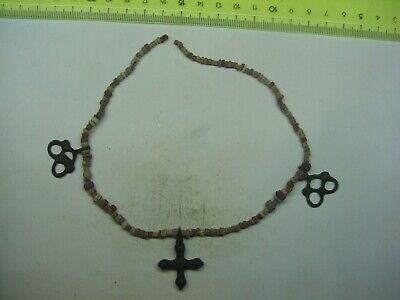 Necklace + Pagan pendants  8-11th century The decoration of the Vikings - Slavs