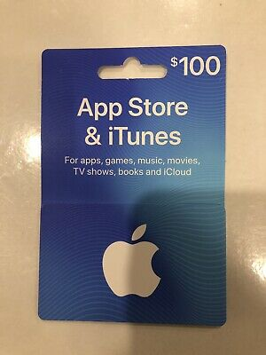App Store And iTunes Gift Card $100