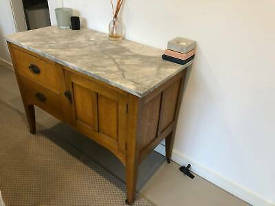 Antique Marble Top Wash Stand/Washstand/Cupboard