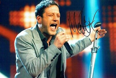 Matt CARDLE The X Factor Winner SIGNED Autograph 12x8 Photo 3 AFTAL COA