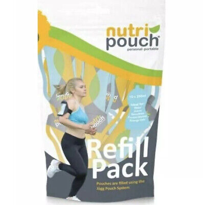 Nutripouch Refill Pouches 10 x 250ml - Smoothie Pouches - FREE DELIVERY