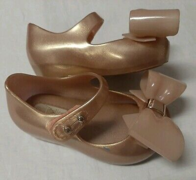 Toddler Girls Mini Melissa Ultragirl w Bows Scented Shoes Size 5 - Wore 1X
