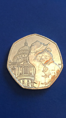 Collectable 50p Coin - Paddington at St Pauls Cathedral (2019)