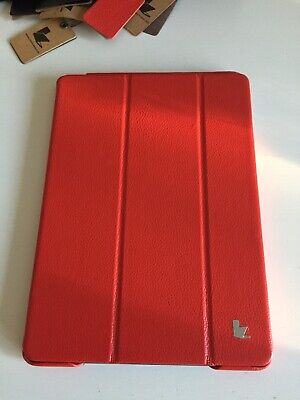 Ipad Air 1 JISON Luxury Smart Case/Genuine Leather/RED/New