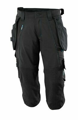 Mascot Advanced 3/4 length stretch trousers / shorts Holster & Kneepad Pockets