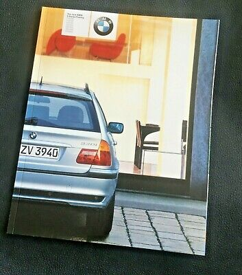 BMW 3 Series Touring (E46) UK 2002 BROCHURE - inc Sport + Individual