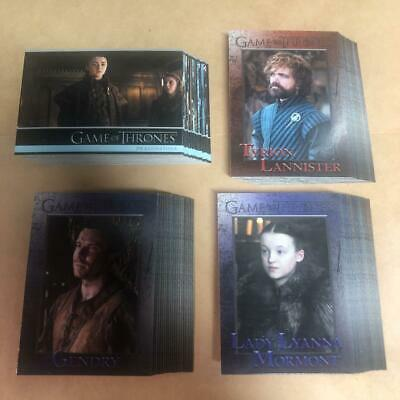 2018 Rittenhouse Game Of Thrones Season7 *Ex Condition* From Japan *Tt0121
