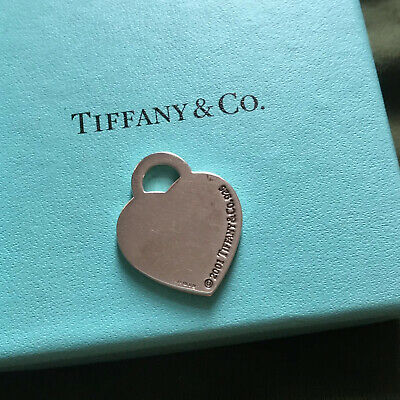 authentic Tiffany & Co Sterling Silver Pendant /charm