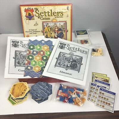 Settlers of Catan Game 483 Mayfair Games 1997