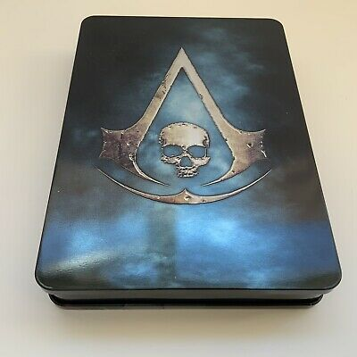 ASSASSIN'S CREED UNITY PS3 Steelbook CREED 3 & Black Flag Music & Artbook