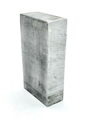 "STEEL FLAT PLATE 1"" x 4"" x 2-1/8"" STOCK 2lb, 6.8oz Blacksmith Milling Welding"