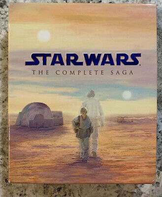 Star Wars: The Complete Saga (Blu-ray Disc, 2011, 9-Disc Set)