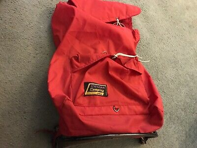 Vintage Citizen Camping by Milletts External Frame Backpack Rucksack Red Retro