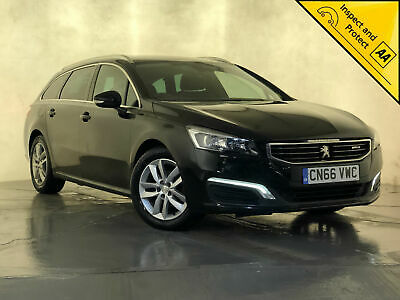2016 66 Peugeot 508 Active Sw Blue Hdi Estate Automatic 1 Owner Service History