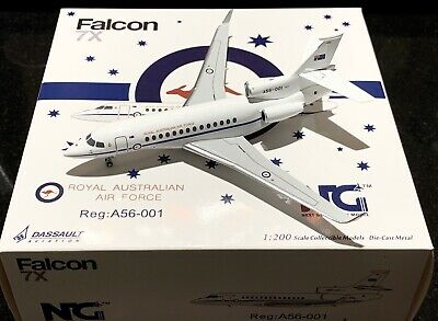 NG Models 1/200 RAAF Royal Australian Air Force Falcon 7X A56-001 SOLD OUT