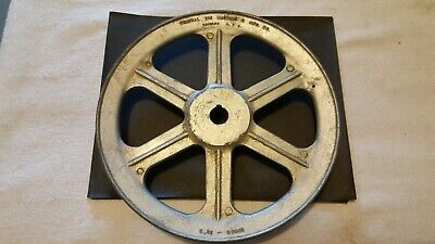 "Chicago Die Casting Single V Groove spoke Pulley #1000B-10"" B"