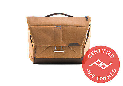"Brand New Peak Design Everyday Messenger Bag V1 (13"" Tan) - PD Certified"