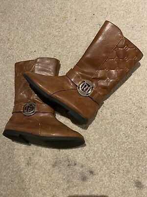 Girls Boots Shoes River Island Uk 7 Brown