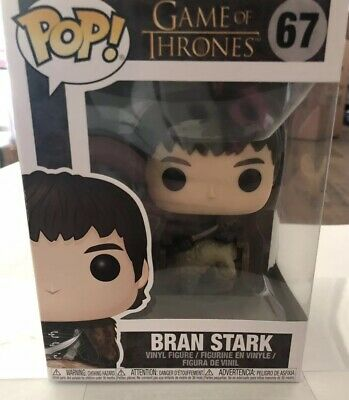 Funko Pop! Games of Thrones King Bran Stark #67 Vinyl Action Figure In Stock NIP