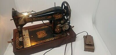 Domestic Vibrator Sewing Machine 617813 1930s/40s RARE WITH CASE WORKS