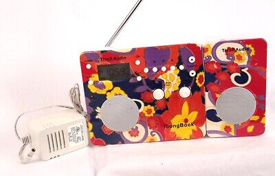 Tivoli Audio Anthropologie iSongbook AM/FM/AUX Stereo w/Speaker Extension Tested