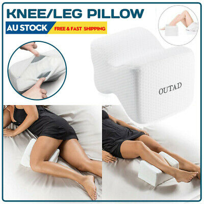 Outad Rebound Memory Foam Leg Pillow Orthopaedic Pillow Back Hip Knee Support AU
