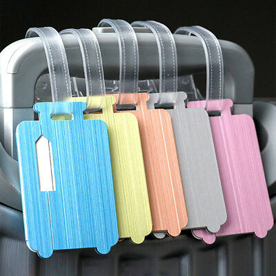 BL_ FT- ALS_ Aluminum Alloy Luggage Tag Suitcase ID Address Baggage Boarding Lab