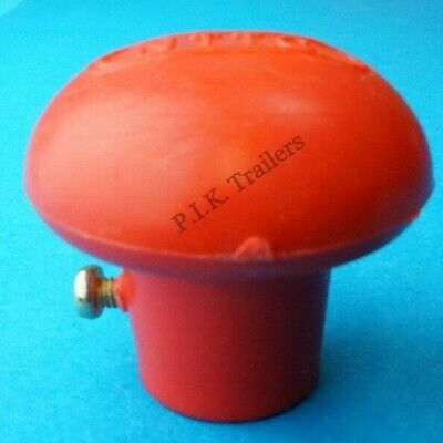 Replacement Jockey Wheel Handle Red Turn Knob for Trailer Bradley Kit 142