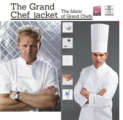 Bragard *Grand* Chef Jacket White Long Sleeve Gordon Ramsay - Rrp £180