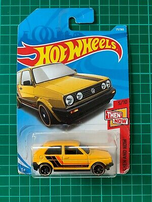 Hot wheels car Volkswagen VW Golf mk2 Gti 171/365 Then and Now