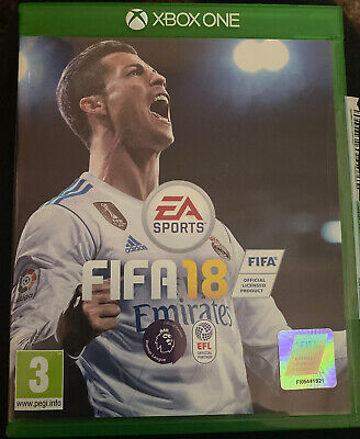 Fifa 18 (Xbox One)- PRISTINE CONDITION, USED ONCE - 1st Class Postage
