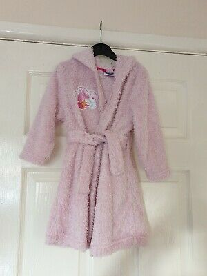 Girls Pink Peppa Pig Dressing Gown Age 2-3 Years George
