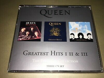The Platinum Collection: Greatest Hits I, II & III : CD x 3 Fat Box: Rock:
