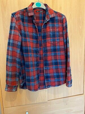 Next Checked Denim Shirt - Boys age 10 Years old - worn once.