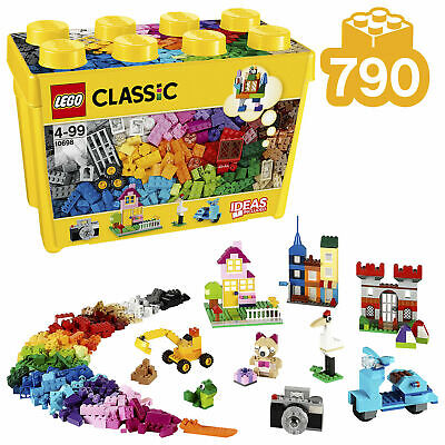 LEGO 10698 Classic Large Creative Brick Box Construction Set, Toy Bricks