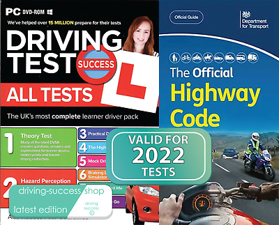 Driving Theory Test & Hazard DVD + 2020 Highway Code Book.(pub April 2020)