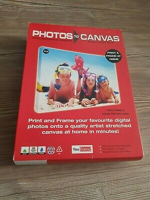 BNIB - You Frame Photos to Canvas Triple Pack