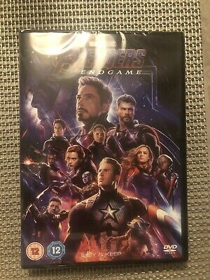 DVD - Marvel Studios Avengers Endgame (NEW AND SEALED)